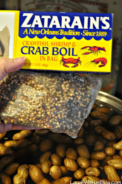 Zatarain's for spicing up boiled peanuts
