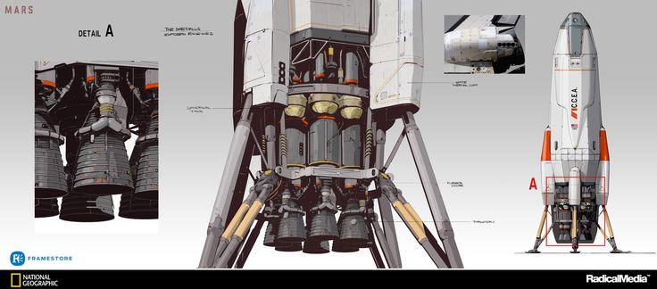 ArtStation - MARS - the Daedalus, Oscar Cafaro