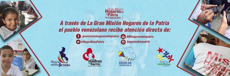 @HogarDeLaPatria : El Gobierno Bolivariano sabe dónde está la pobreza extrema a través de ese diagnóstico @HogarDeLaPatria implementa medidas