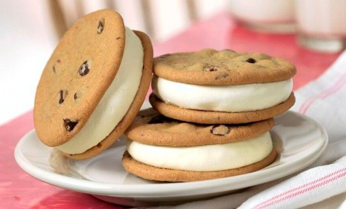 Originally the cookies were baked at the store and the frozen custard was hand-scooped to create the very handmade sandwich. Description from rhinofoods.com. I searched for this on bing.com/images