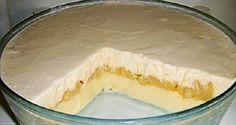 O Pavê Delícia de Abacaxi é fácil de fazer, econômico e delicioso. Faça para a sobremesa da sua família e receba muitos elogios! Veja Também: Pavê com Frut