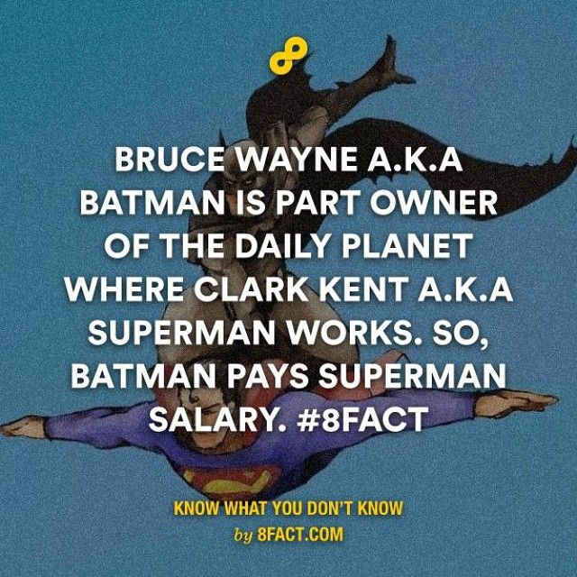 Team Batman unite here! #8fact