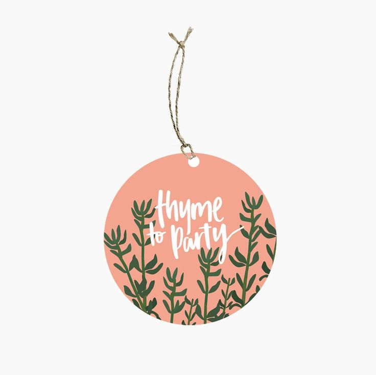 Yes it is here: Thyme Pun Gift Tag Always excited when new goodies arrive http://www.pookipoiga.com/products/thyme-pun-gift-tag?utm_campaign=social_autopilot&utm_source=pin&utm_medium=pin