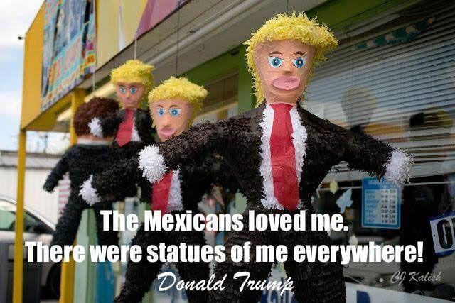 Funny Donald Trump Memes: Trump Piñatas