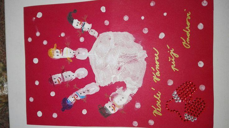 Christmas card, Vánoční přání