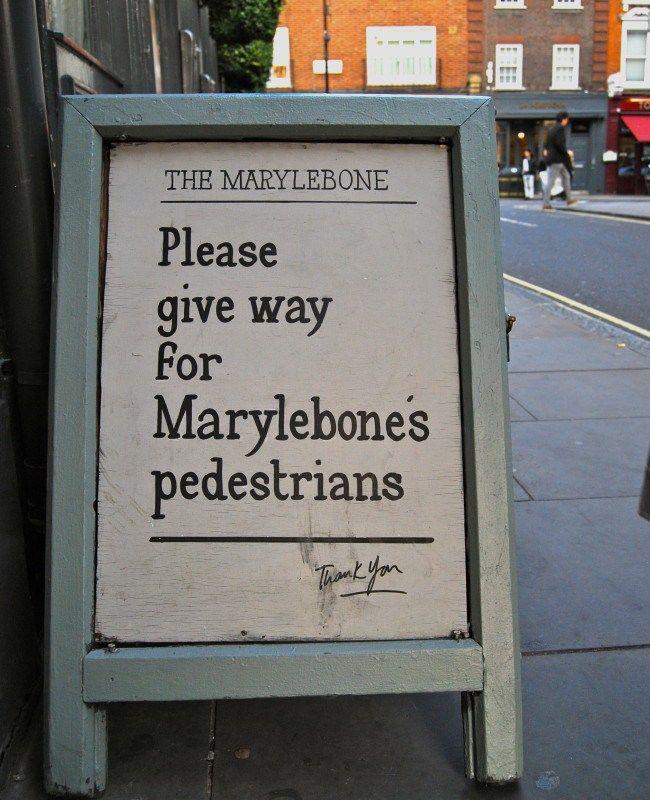 London's Marylebone Village. www.thisoffscriptlife.com #london