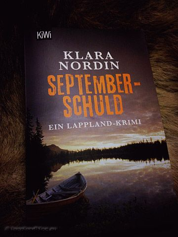 Klara Nordin: Septemberschuld - Der nächste Lappland-Krimi ist erschienen
