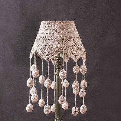 Ganxet-Pantalles pels llums... --adorno-lampara