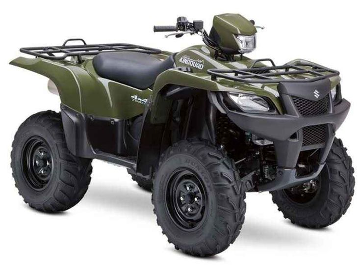 Used 2013 Suzuki KingQuad 750AXi ATVs For Sale in Ohio. 2013 Suzuki KingQuad 750AXi, NICE QUAD WILL GO QUICK GO ANYWHERE NEWER MUD TIRES!! For three decades, Suzuki literally invented the four-wheel ATV. The original Suzuki LT-125 established Suzuki as the first on four-wheels. With the 30th anniversary of that breakthrough, the Suzuki KingQuad 750AXi carries on the tradition of performance that rules. It's engineered to tackle the toughest jobs and nastiest trails without breaking a sweat…