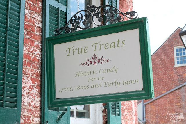The True Treats Historic Candy shop is set up to take you on a historical tour of candy making in America from the early Native Americans clear through to the retro candies you remember enjoying as a kid.