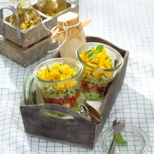 Weight Watchers - Laagjessalade met couscous – 4pt