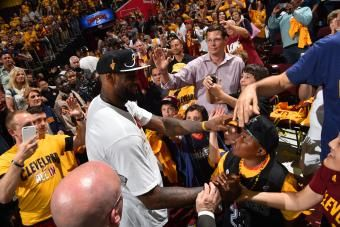 In Leading Cavs to NBA Finals, LeBron Shows Why He Is Game's Top Handyman | Bleacher Report