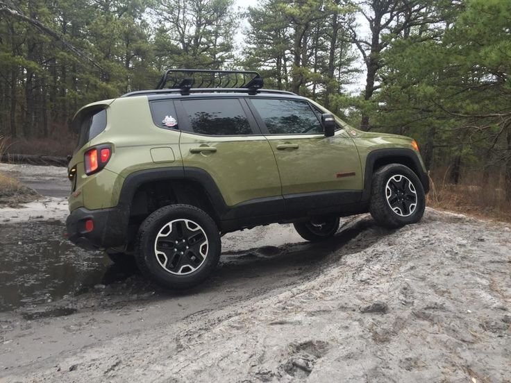 Daystar lift kit installed. | Jeep Renegade | Pinterest ...