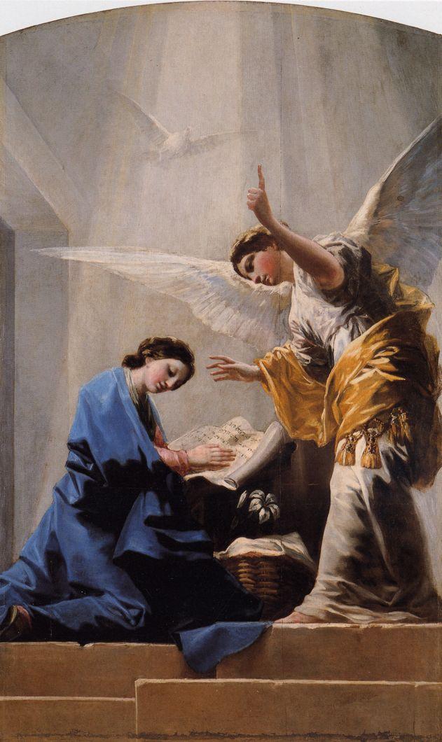 Anunciacion, 1785 - Francisco de Goya -