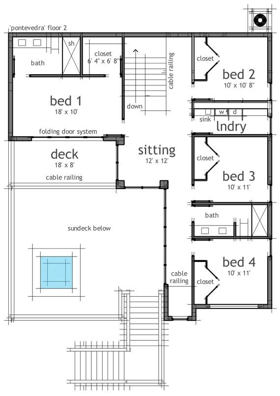 images about house plans for Sims games on Pinterest   House    House Plan     second floor