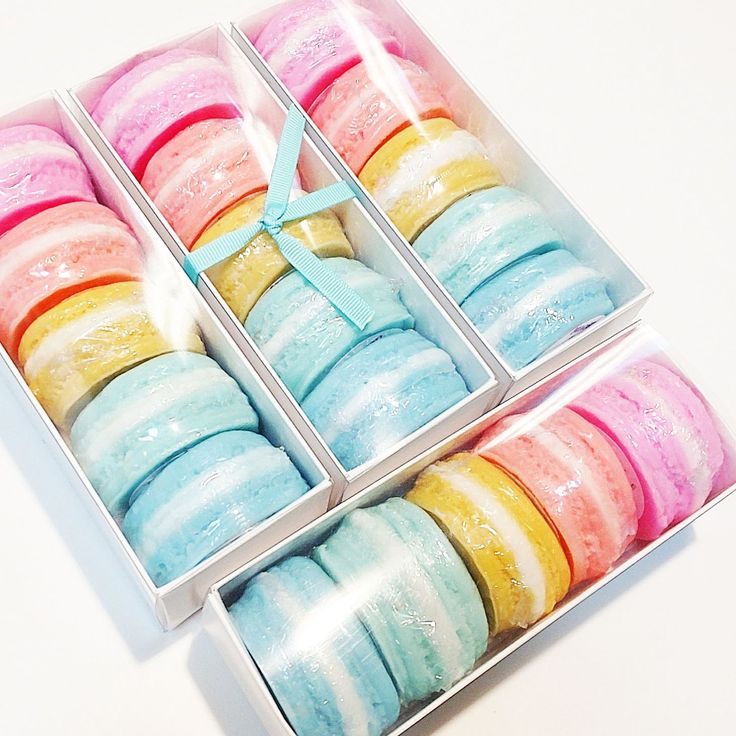 Macaron Gift Box Soap Gift Set For Women Birthday Gift
