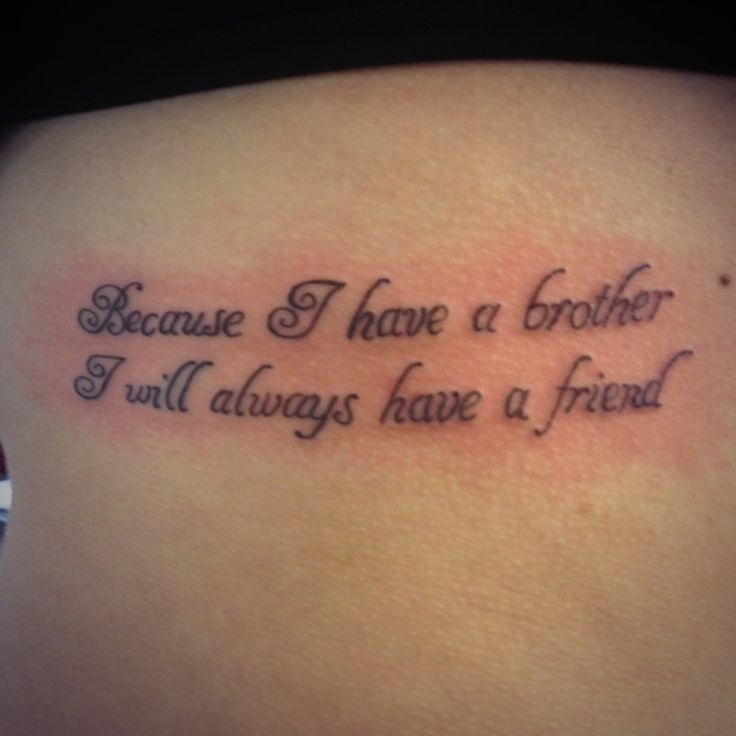 Tattoo Quotes That Aren T Cheesy: Best 25+ Brother Tattoo Quotes Ideas On Pinterest