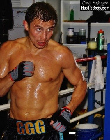 gennady golovkin training   Exclusive PHOTOS: Gennady Golovkin continuing the hard work for HBO ...