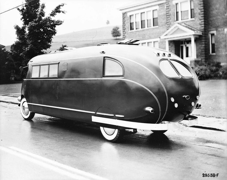RV Designed By Brooks Stevens