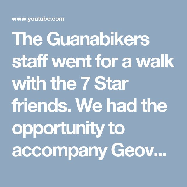 The Guanabikers staff went for a walk with the 7 Star friends. We had the opportunity to accompany Geovanny Linares in the segment No Reservations!