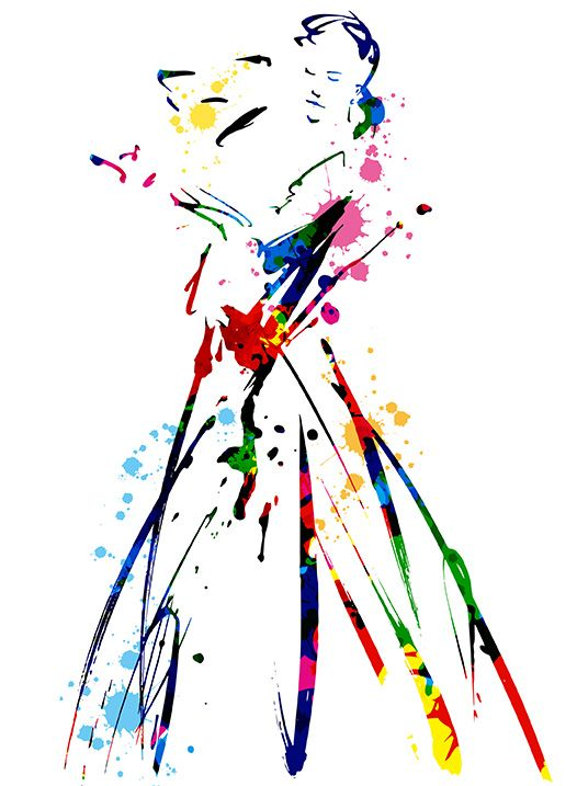 flamenco #デジタル三原色クロッキー #三原色クロッキー #三原色 #大阪 #イラスト