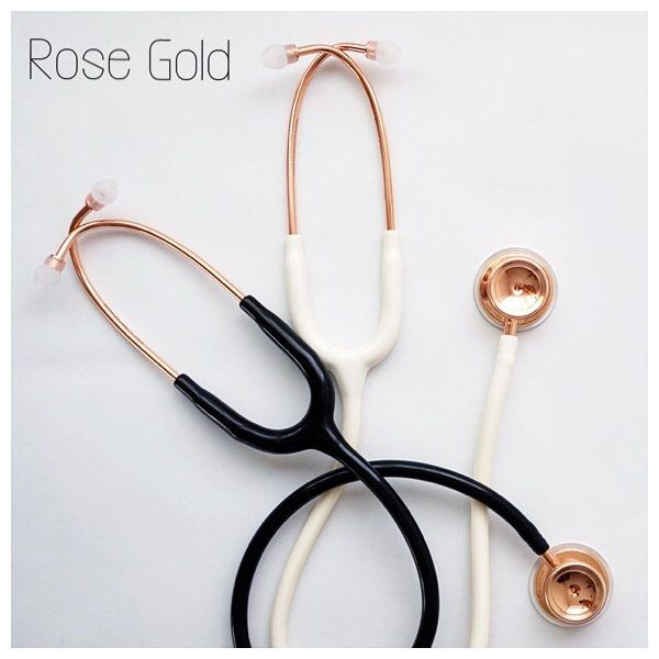 Do you like rose gold ?  Then match your stethoscope with your jewelry