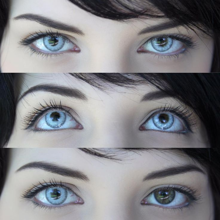 Real Crystal Colored Contact Lenses in 2020 Colored