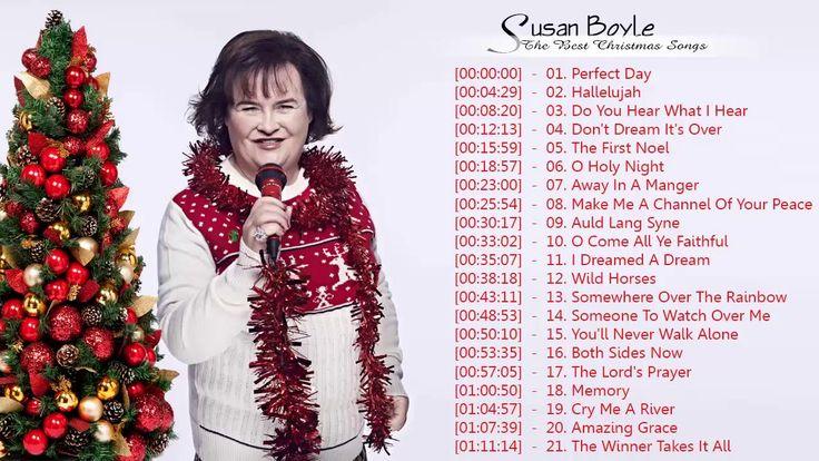 Susan Boyle Christmas Album - Susan Boyle Christmas Greatest Hits - Best...