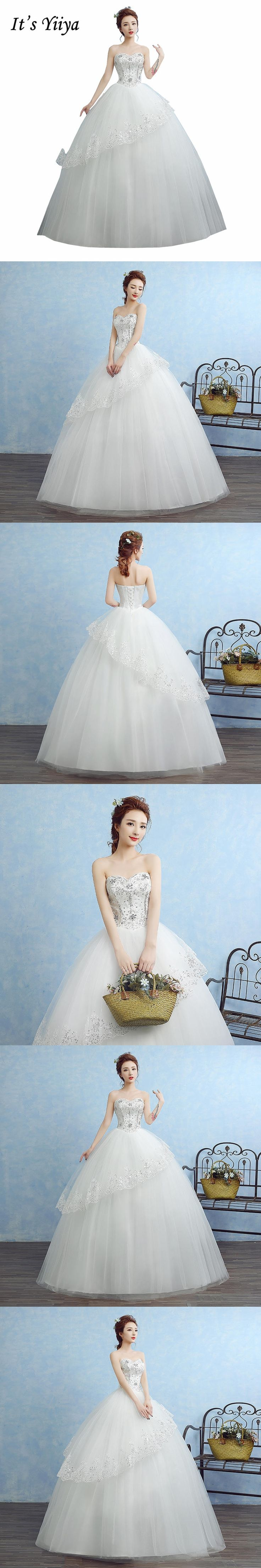 Free Shipping Real Photo Plus size Strapless Bling Sequin Wedding Dresses White Cheap Bride Gowns Frocks Vestidos De Novia XN078