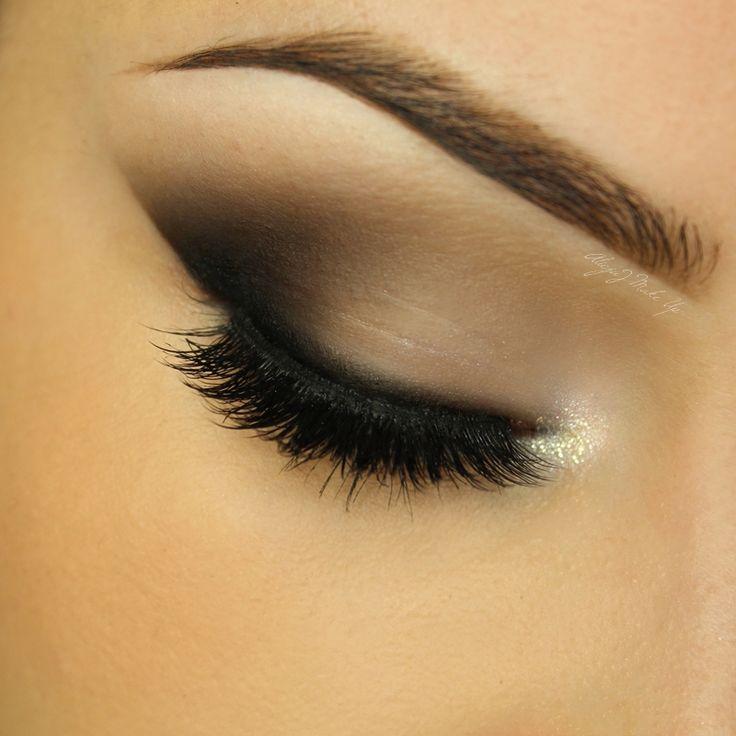 Makeup Geek Eyeshadows in Bedrock, Concrete Jungle and Corrupt. Look by: AlicjaJ Make Up