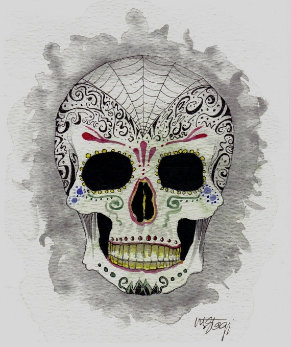 79 best Halloween 2013! images on Pinterest | Sugar skulls ...