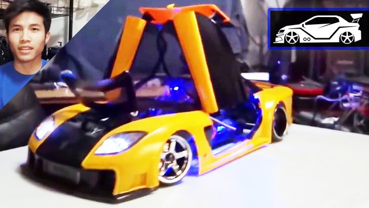 RC Modify 11 Part 1 | Mazda RX-7 VeilSide [English]