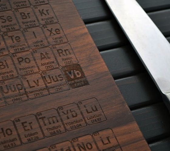 114 best periodic tables of everything images on pinterest ha ha periodic table cutting board 45 urtaz Choice Image