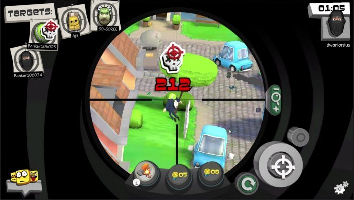 Snipers vs Thieves is a Android Free-to-play, Action real-time, Multiplayer Game that brings a fresh approach to the FPS genre on mobile.