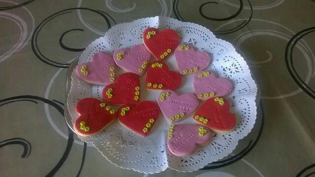 Galletas con corazon de sweetamy