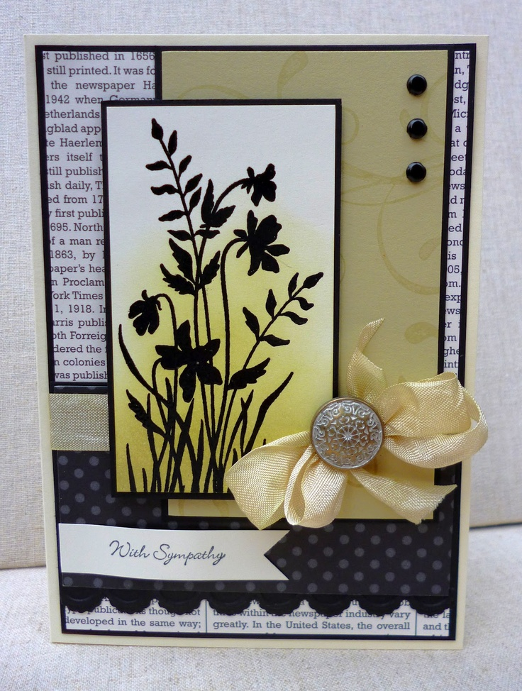 by Amy White, White House Stamping: House Stamping, Cards Flowers, White Houses, Cards Scrapbook, Bkb Cards, Cards Sympathy, Cards 2013, Cards Floral, Card Sketches