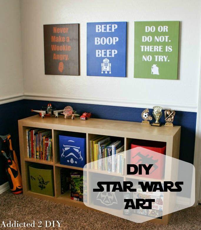 Diy Star Wars Wall Decor Plus Free Svg Files Wall Decor Buy Stuff And Star Wars Art