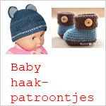 sorry, these are not patterns for crochet baby items! It's a list of Dutch, English and US crochet terms. This was the only picture available.