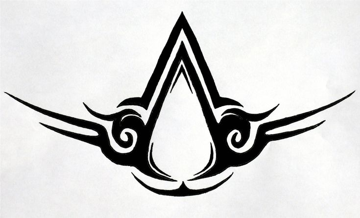 want this as a sternum tat.. Or at least something that has something to do with assassins creed..