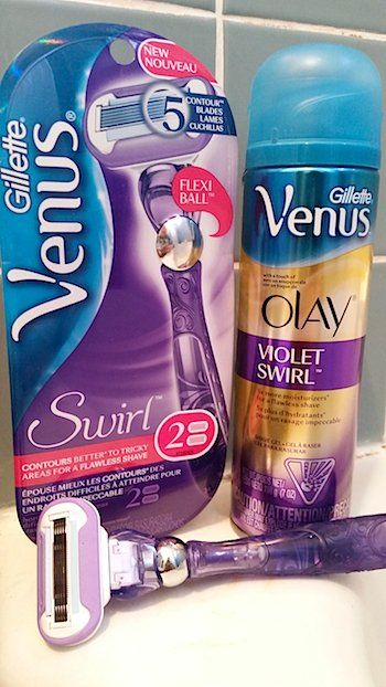 Review: Gillette Venus Swirl Razor #MovesLikeNoOther With FLEXIBALL Technology, 4 Tips For How To Get The Best, Flawless Shave