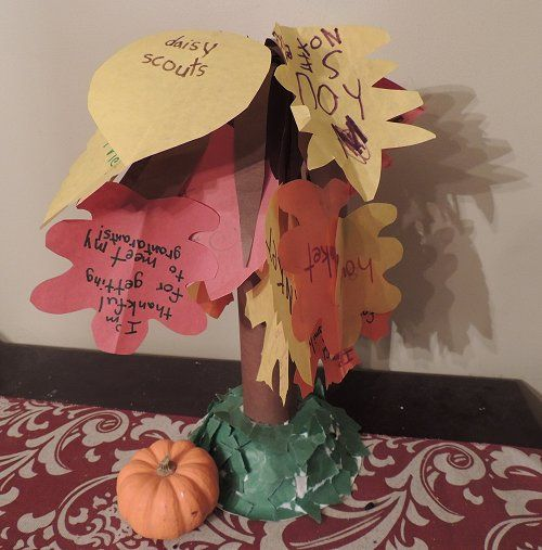 Our Gratitude Tree | Naturally EducationalSunday School