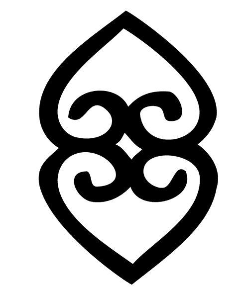 ASASE_YE_DURU -Símbolo de la providencia y la divinidad de la Madre Tierra representa la importancia de la tierra para sostener la vida.