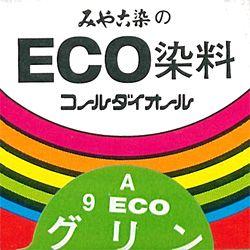 みや古染 eco染料 染め粉 コールダイオール col.9 グリン
