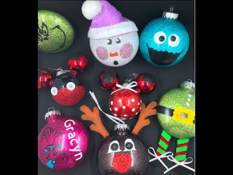 DIY How to make Christmas 🎄 ornaments