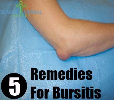 5 Remedies For Bursitis