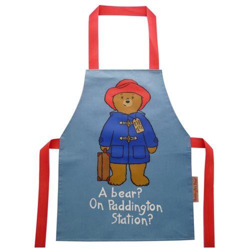 Classic Paddington bear apron. | Paddington