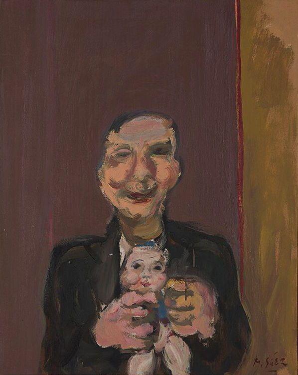 Martin Sáez. Oleo sobre lienzo 81x65 cm