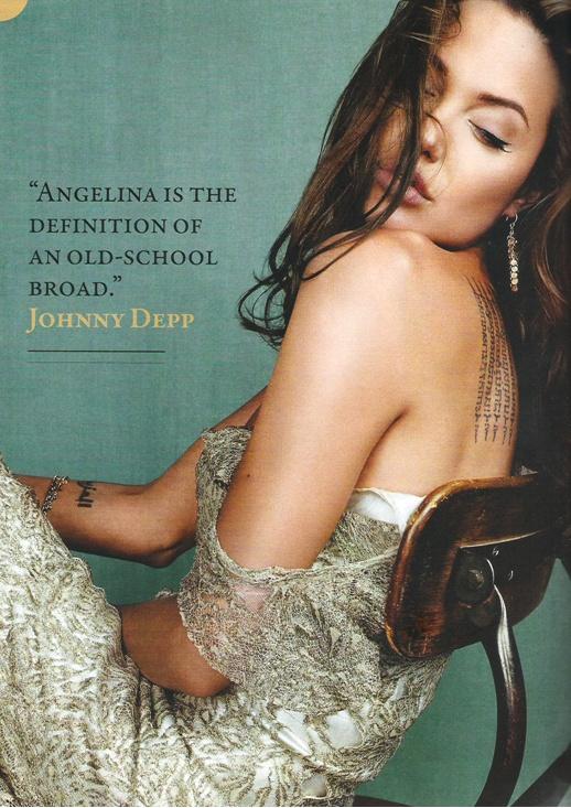 Angelina Jolie | Johnny Depp quote