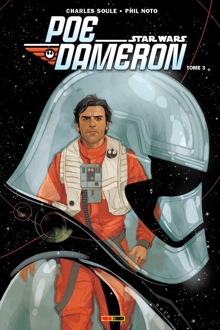 Panini comics : Couverture du tome 3 de Poe Dameron | Star Wars HoloNet