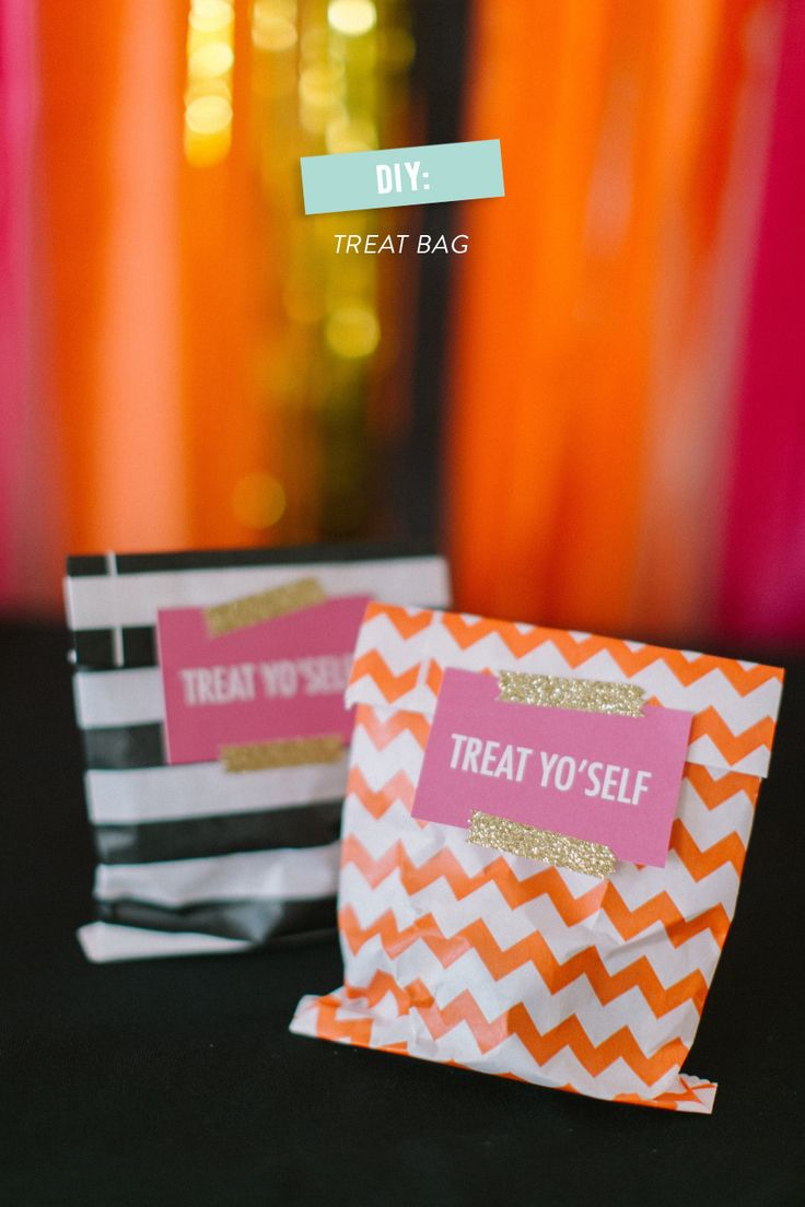 #DIY #Halloween Treat Bags Read more - http://www.stylemepretty.com/living/2013/10/28/diy-halloween-treat-bags/